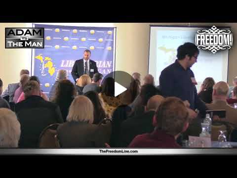 Public Speaking, Nonviolent Communication, the Rise of the Libertarians Kokesh at LPMI