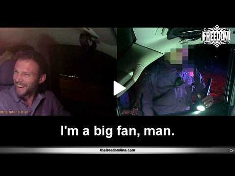 How I got out of a ticket (dashcam footage)