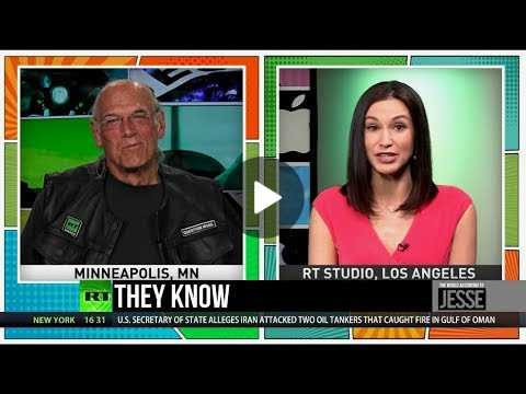 Jesse Ventura: Big tech monopolies will be broken up just like big telephone companies