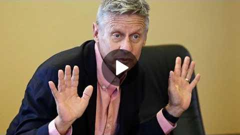 Libertarian Party courts Gary Johnson for Senate run
