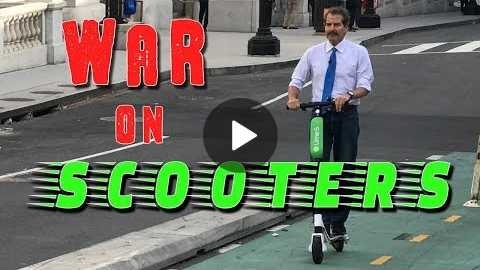 Stossel: War on Electric Scooters