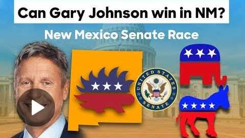 Can Gary Johnson Win the 2018 New Mexico Senate Race?