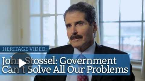 John Stossel on Government, Free Enterprise, and Media