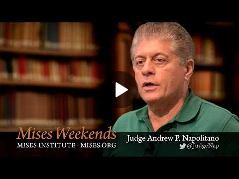 Judge Andrew Napolitano: What the 1st Amendment Really Means