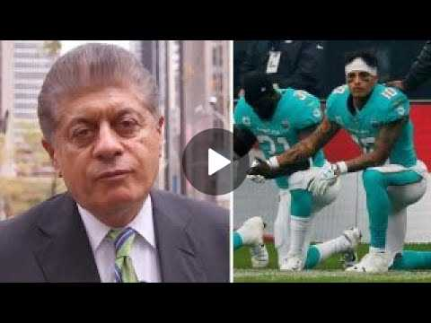 Napolitano: Is taking a knee protected speech?