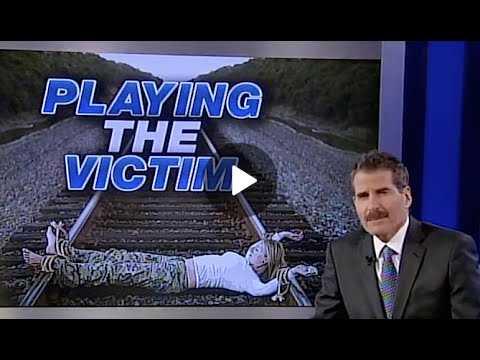John Stossel Playing the Victim